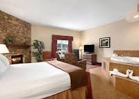 Suites indoor pool and amenities Ramada Inn near Gatlinburg