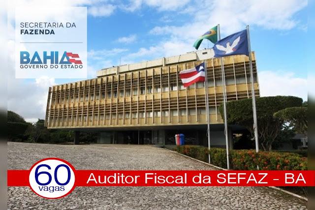 concurso para auditor fiscal da SEFAZ Bahia