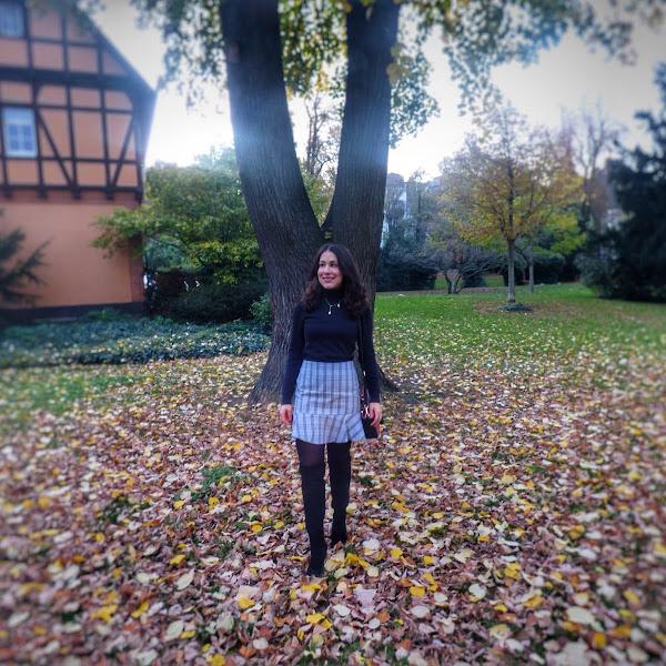 Style: Herbstlook mit Overknee Boots
