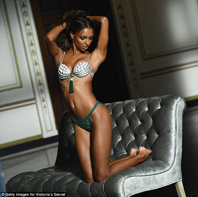 Jasmine Tookes to wear the Victoria's Secret Fantasy Bra 2016