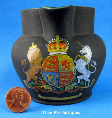 https://timewasantiques.net/products/wedgwood-black-jasper-jug-royal-crest-niagra-canada-basalt