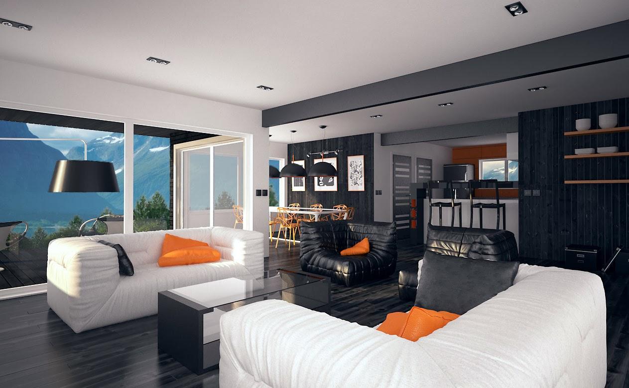 Australian House Plans: Modern Australian Home Plan CH106