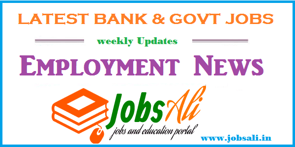 Employment News – 3823 bank & Govt Jobs 06th to 30th December 2016