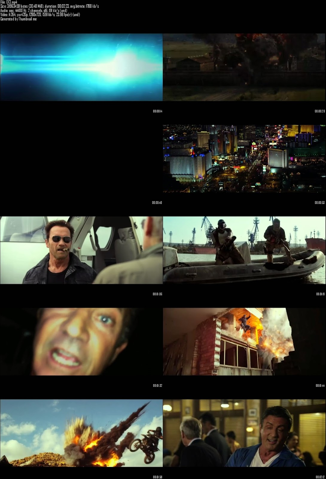 Mediafire Resumable Download Link For Teaser Promo Of The Expendables 3 (2014)