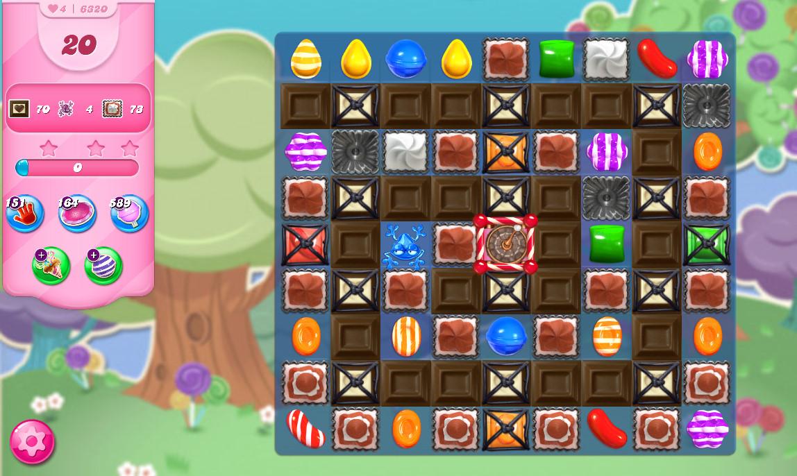 Candy Crush Saga level 6320