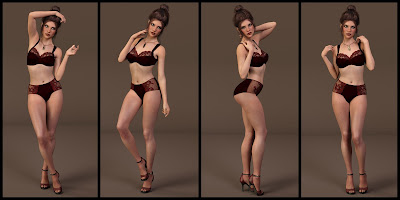 Fascination Poses for Genesis 3 Female