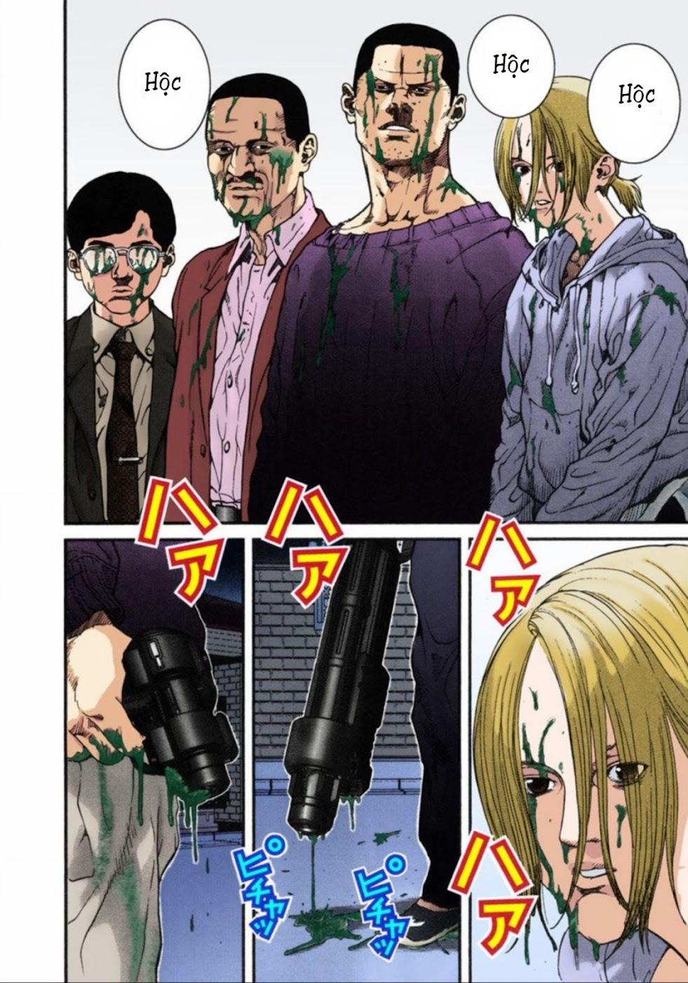 Gantz Chap 08: Tàn sát trang 10