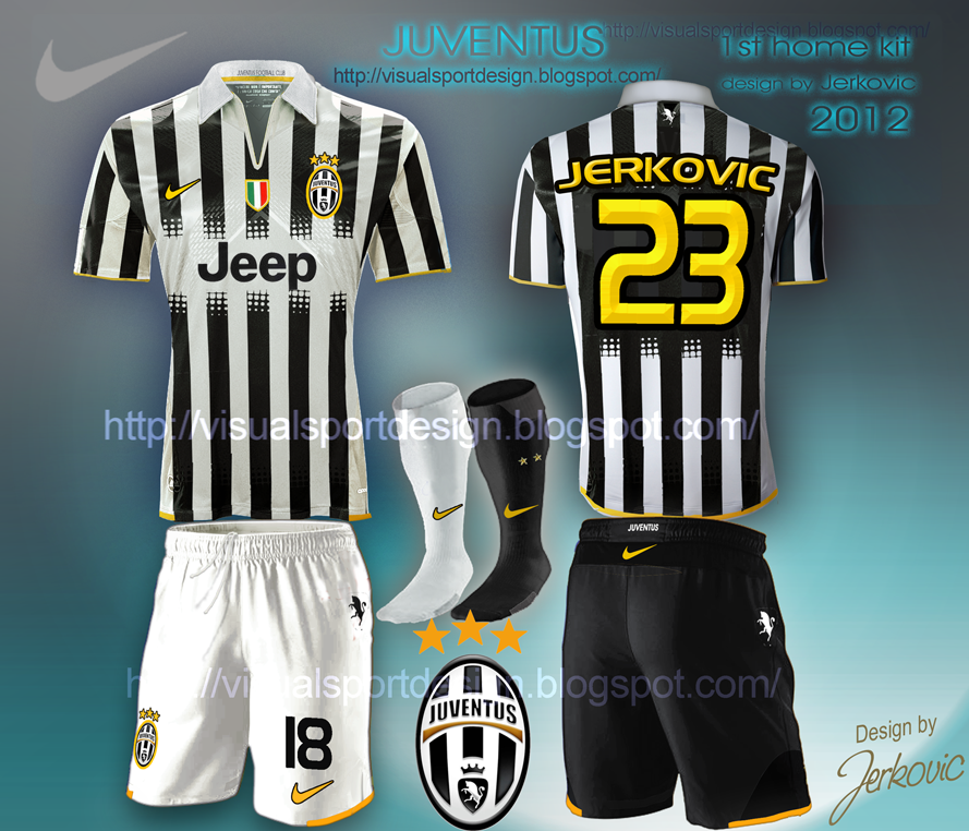 pretty nice a3c6e 8e6e1 Visual Football Fantasy Kit Design: JUVENTUS NIKE