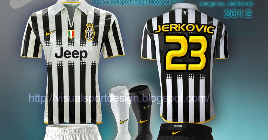 Visual Football Fantasy Kit Design: JUVENTUS NIKE