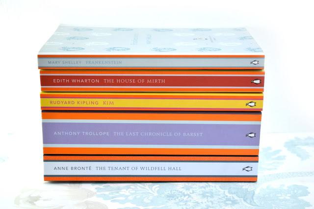 A pile of Penguin English Classic books