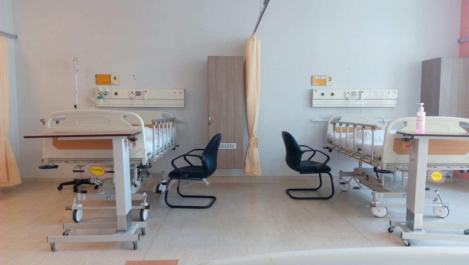 Hospital rooms at Hospital Tuanku Fauziah