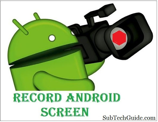Kuch din pehle mobile phone ki screen record karna impossible tha ...