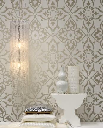 Hogares frescos papel de pared con nuevas tendencias y - Papel pared entrada ...