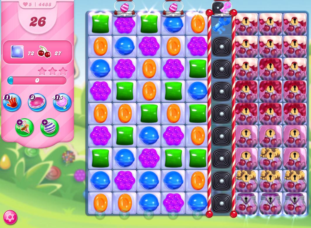 Candy Crush Saga level 4488