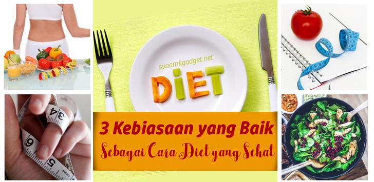 3 Kebiasaan yang Baik Sebagai Cara Diet yang Sehat