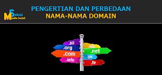 Pengertian dan Perbedaan Nama-nama Domain