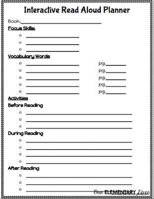 How to Plan an Interactive Read Aloud in 5 Easy Steps - Our ...