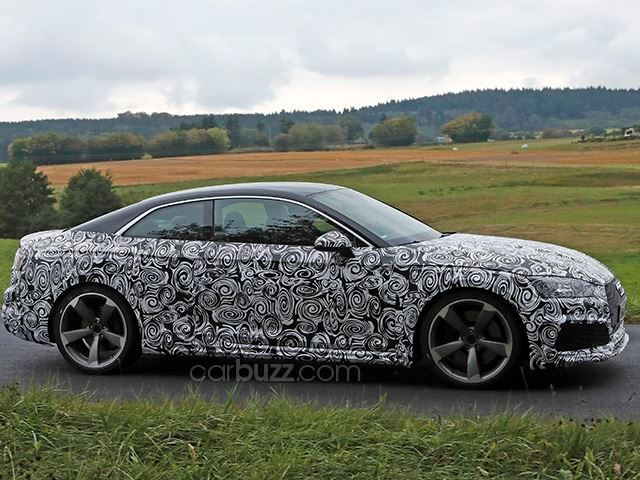 2017 New Audi RS5 Spy Photo and Review Specs