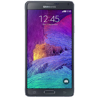 Samsung Galaxy Note 4 (front)