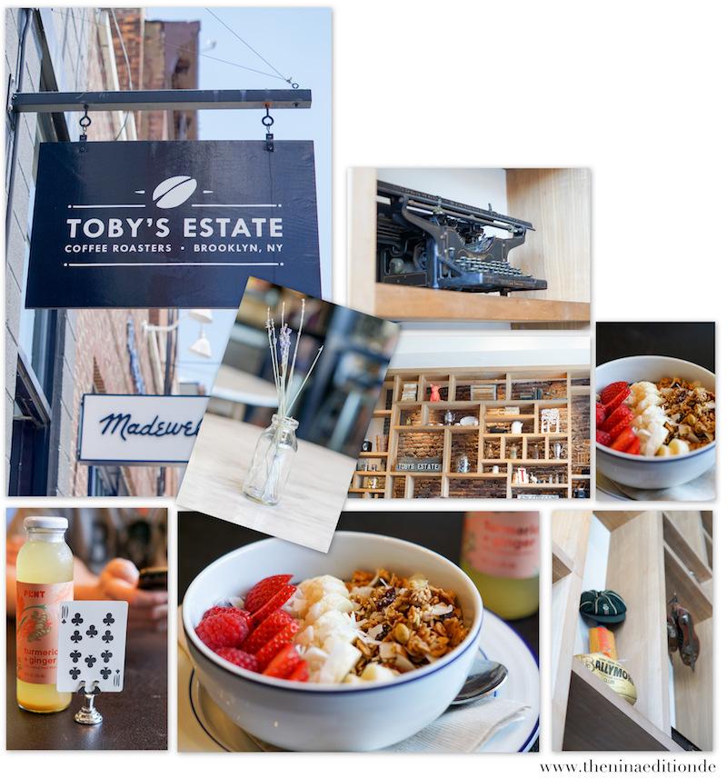 New York City Toby's Estate Brooklyn Acai Bowl