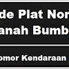 Kode Plat Nomor Kendaraan Tanah Bumbu
