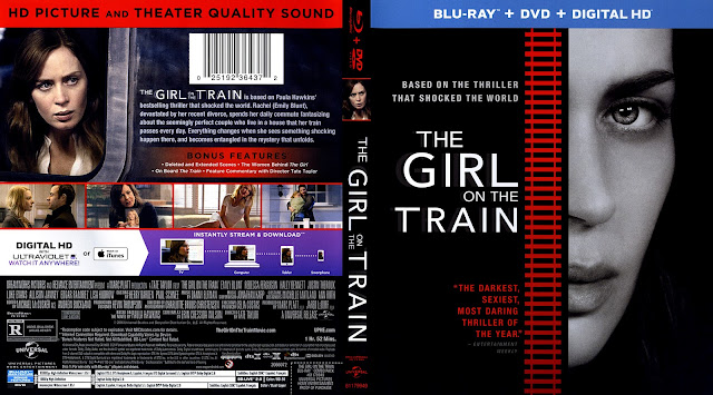 The Girl On The Train Bluray Cover