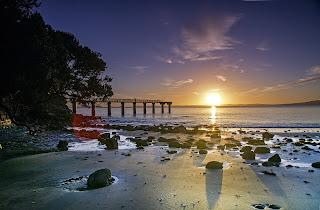 inglés-experiencia-jóvenes-playa-auckland