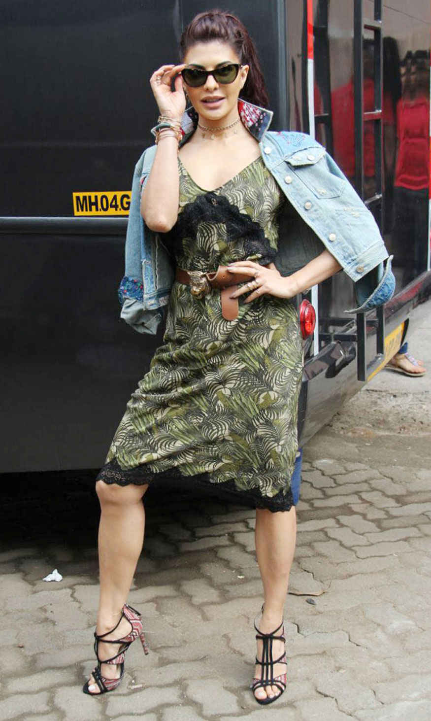 Jacqueline Fernandez at Mehboob Studio In Bandra West, Mumbai