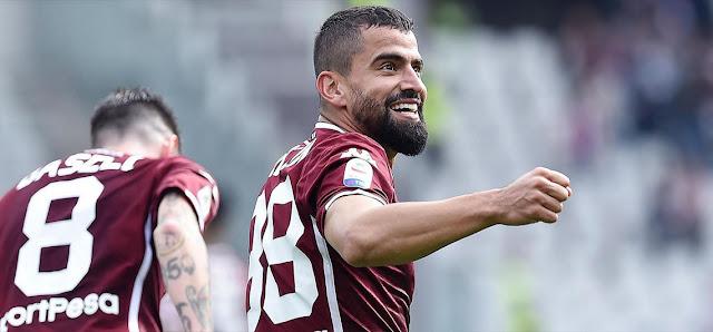 Tomás Rincón anotó este domingo su tercer gol de la temporada de la Liga Italiana.
