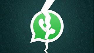la caida de whatsapp