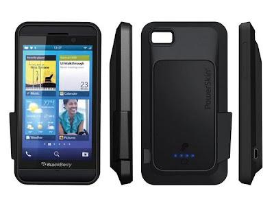 Casing Keren Penambah Daya BlackBerry Z10
