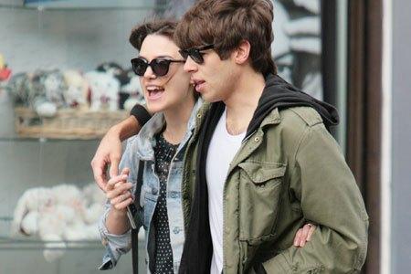 Keira Knightley And Boyfriend 2013 Keira Knightley With H...