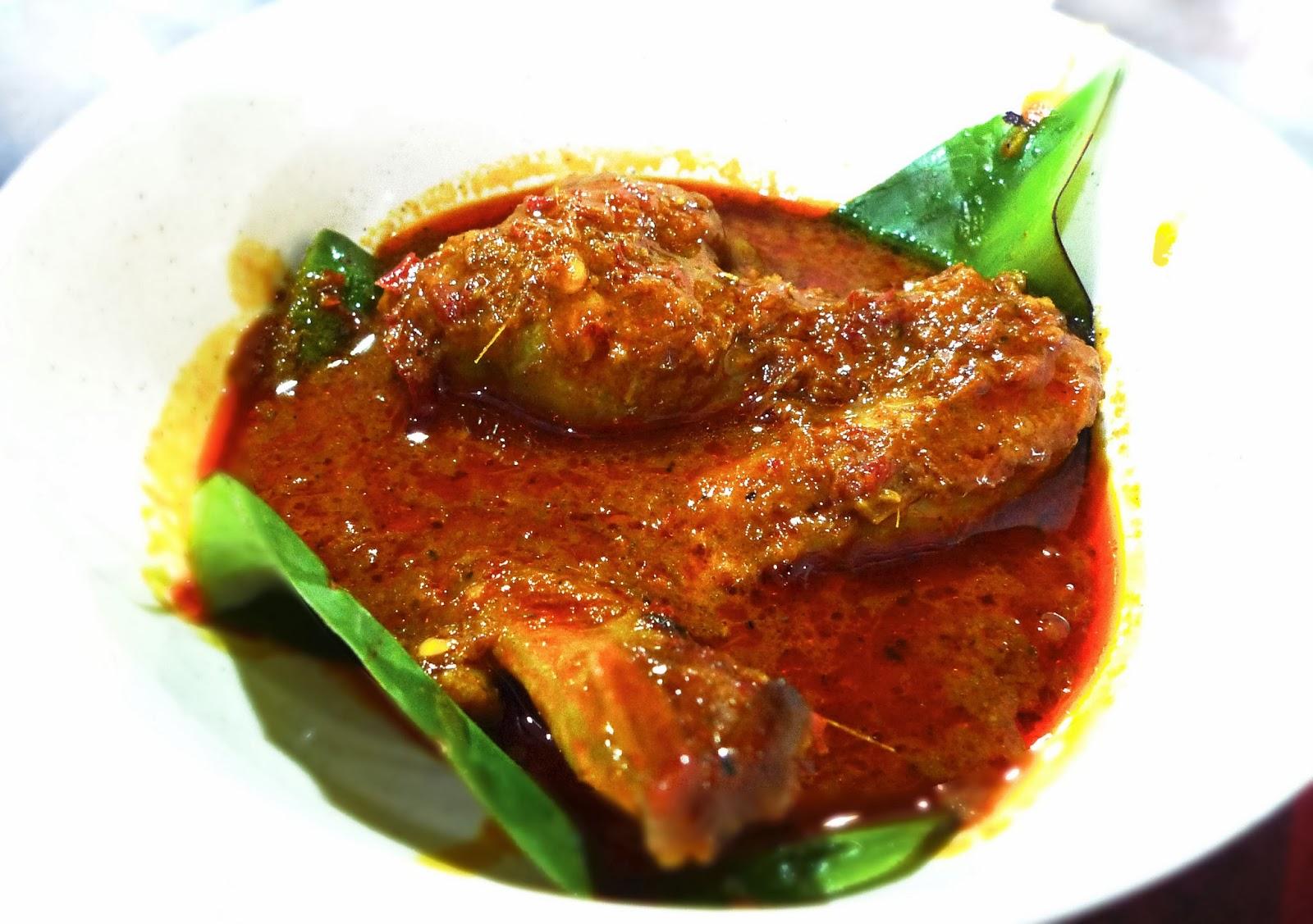 Chicken Rendang Prata Set