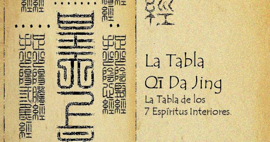 Libro Digital: La Tabla Qi Da Jing. La Tabla de los 7 Espíritus Interiores.