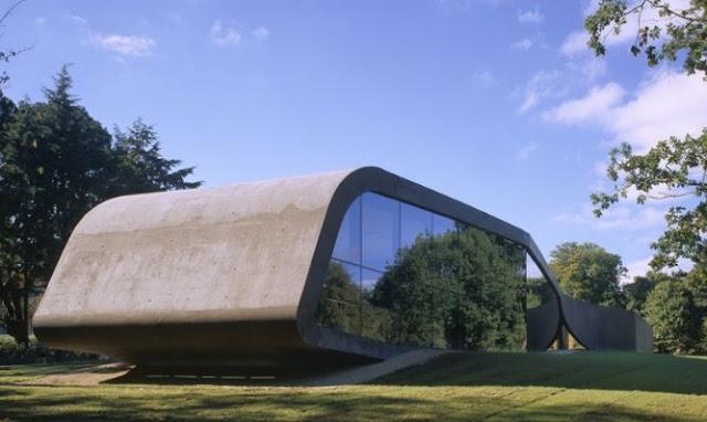 bangunan dengan gaya arsitektur paling menarik di kopenhagen denmark ordrupgaard