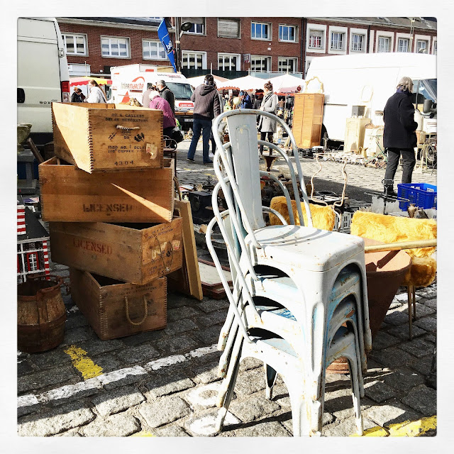 Brocante d'Amiens, avril 2016 / Photos Atelier rue verte /