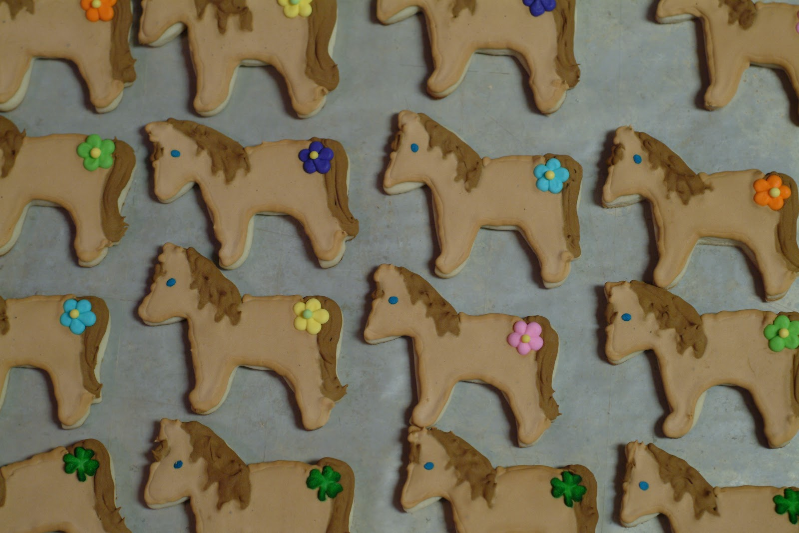 Sara S Confections Horse Cookies