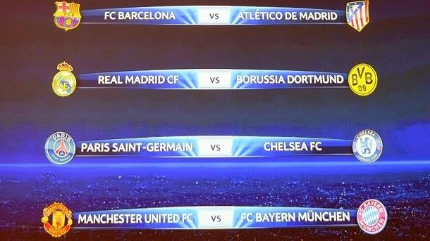 fc barcalona - Latest Calendario De La Champions League Octavos De Final