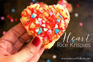 Heart Rice Krispies