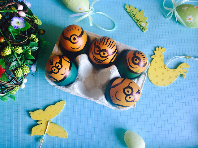🥚minionkowe jajeczka na Wielkanoc🥚