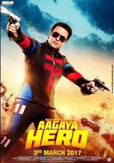 Aa Gaya Hero (2017) Hindi Movie DVDScr 350MB