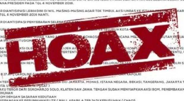 Hoax Sangat Berbahaya untuk Persatuan dan Kesatuan Bangsa