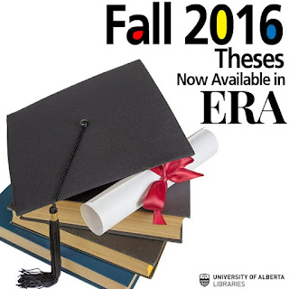 Fall 2016 theses now available in ERA