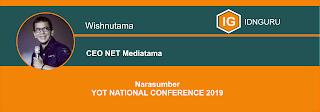 "KONFERENSI NASIONAL YOT 2019 ""Indonesia's Biggest Conference for Millenials"""