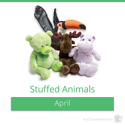 Operation Christmas Child item of the month:  stuffed animals.