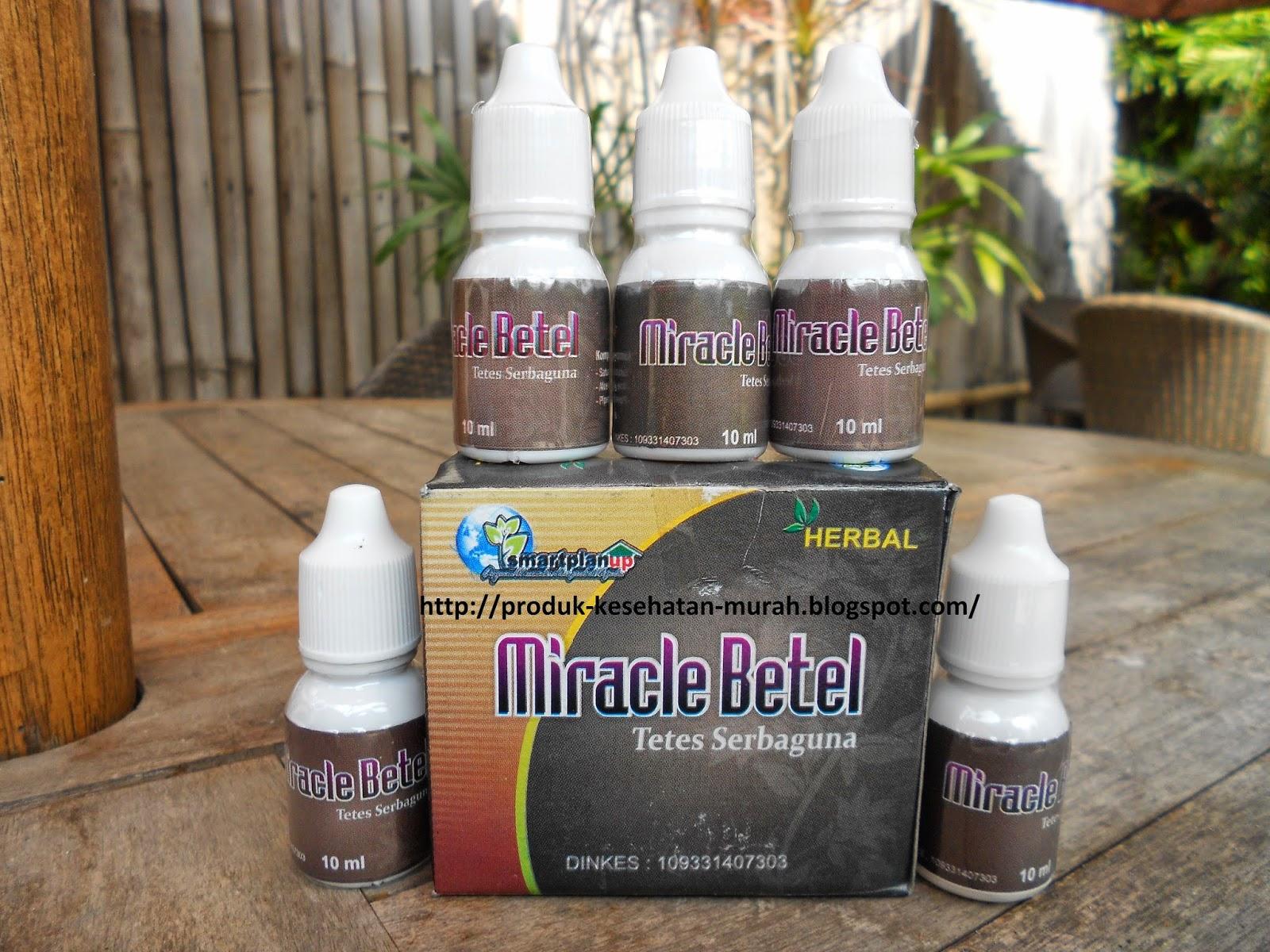 Obat Tetes Mata Serbaguna Miracle Betel