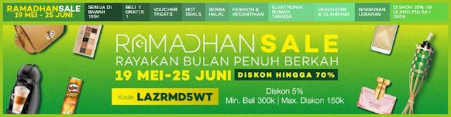 Pesta Diskon Ramadhan Sale Lazada