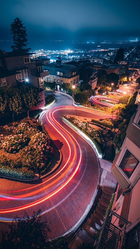 Beautiful city road