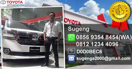 Rekomendasi Sales Toyota Curug Tangerang