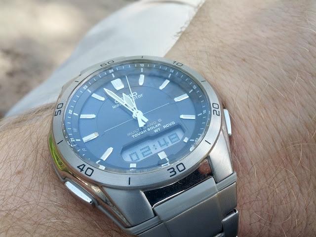 Casio Wave Ceptor WVA-M640TD-1AER solar titanium watch reviewed